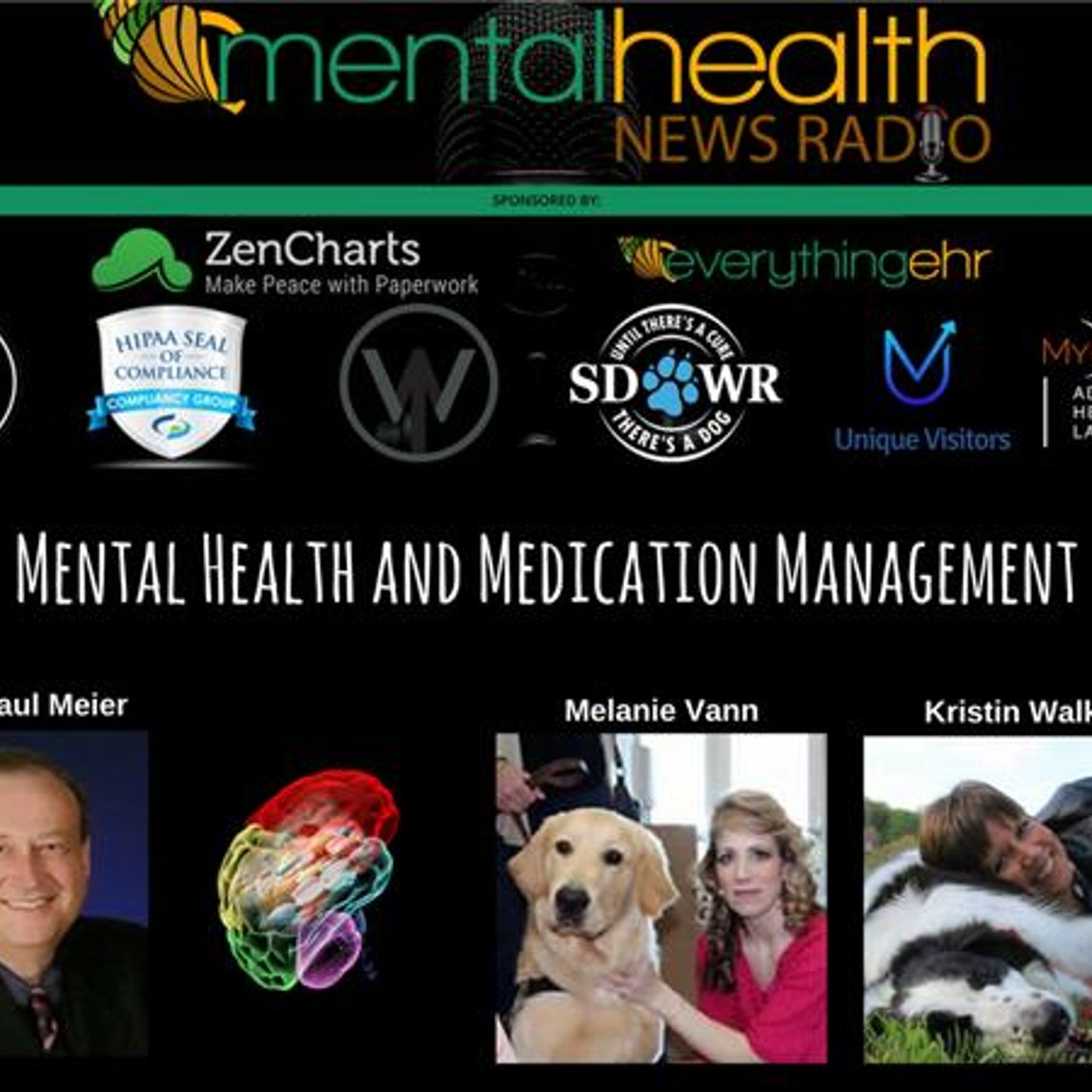 Mental Health News Radio - Round Table with Dr. Paul Meier: Mental Health and Medication Management