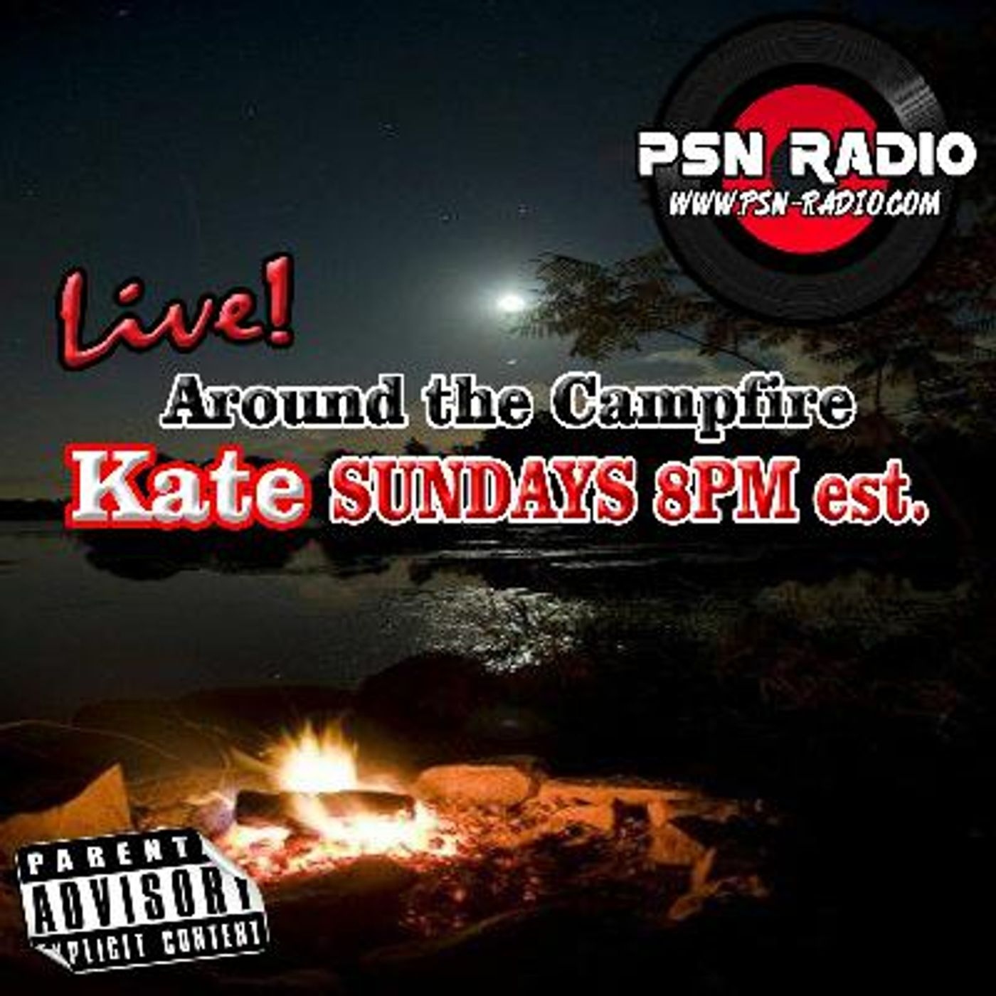 Around the Campfire with Kate  Special guest Craig Sawman Sawyer