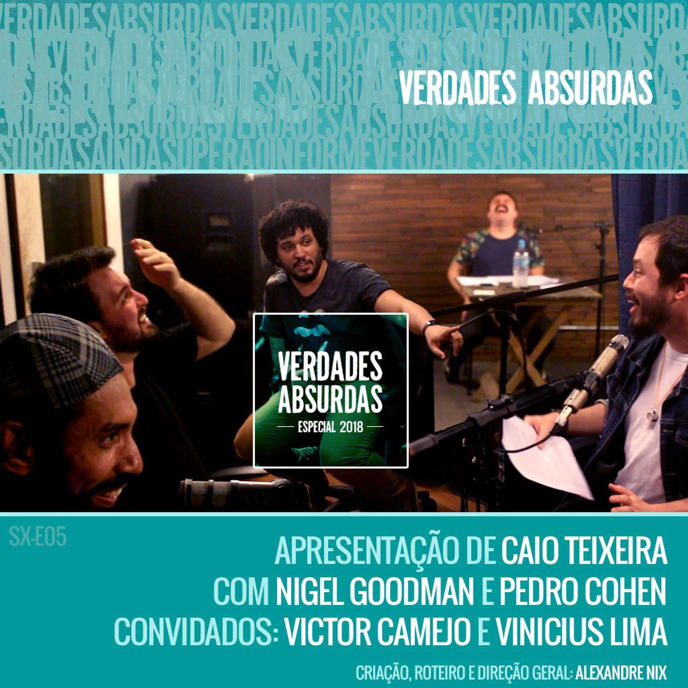Especial 2018 - Com Victor Camejo e Vinicius Lima (VERSÃO REDUX)