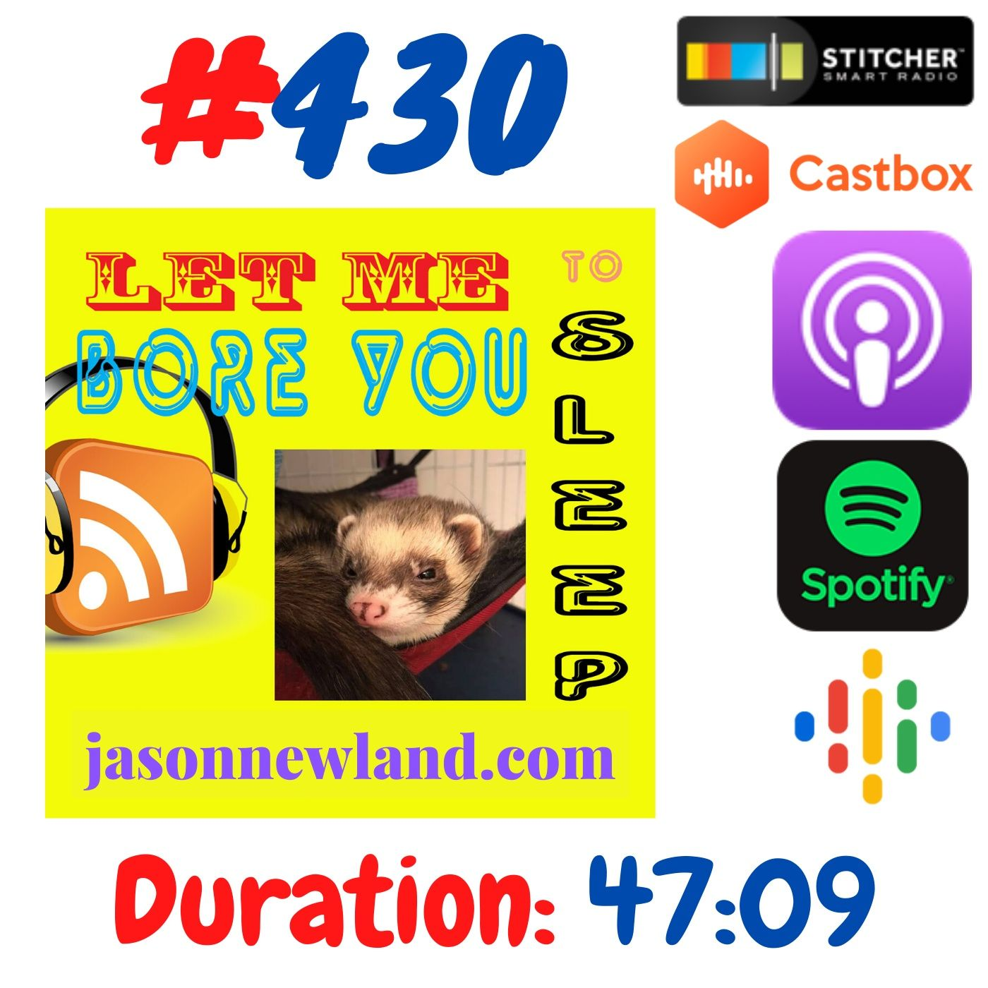 #430 Let me bore you to sleep - Jason Newland (15th June 2020)