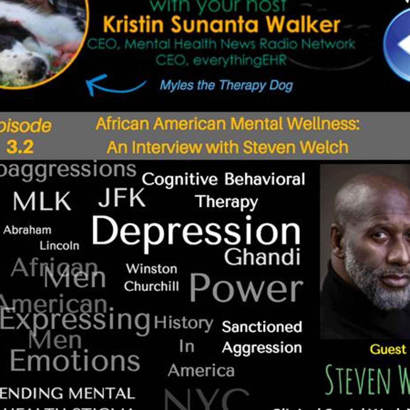 Mental Health News Radio - African American Mental Wellness: An Interview with Counselor Steven Welch 3.2