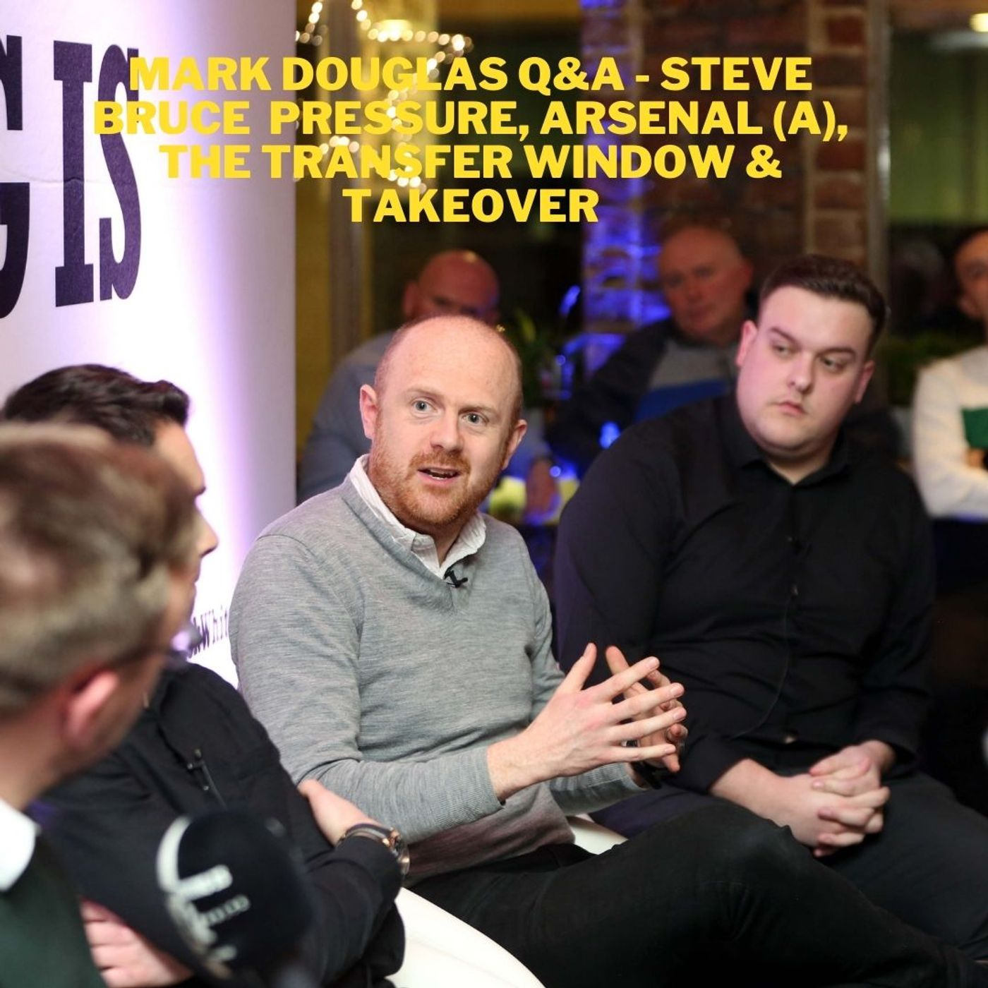 Is Steve Bruce the man to take NUFC forward? Is he under pressure - Q&A session with Mark Douglas