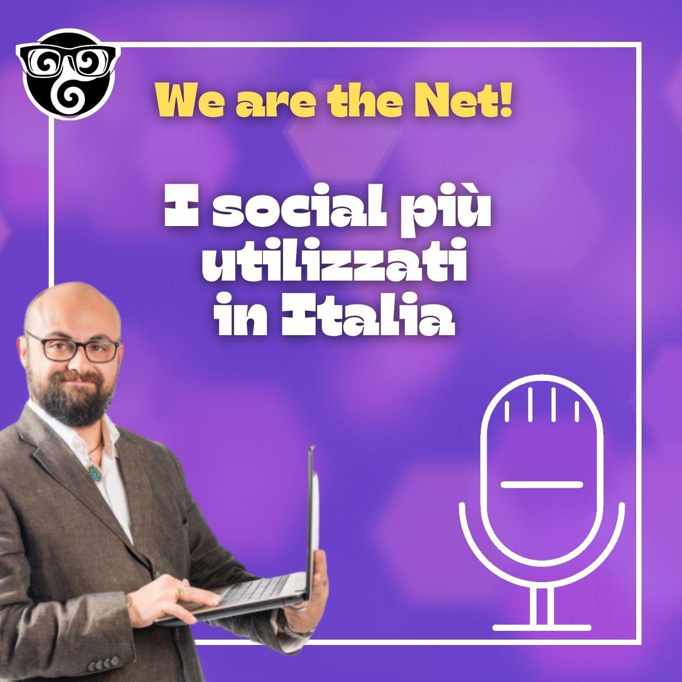 I social più utilizzati in Italia