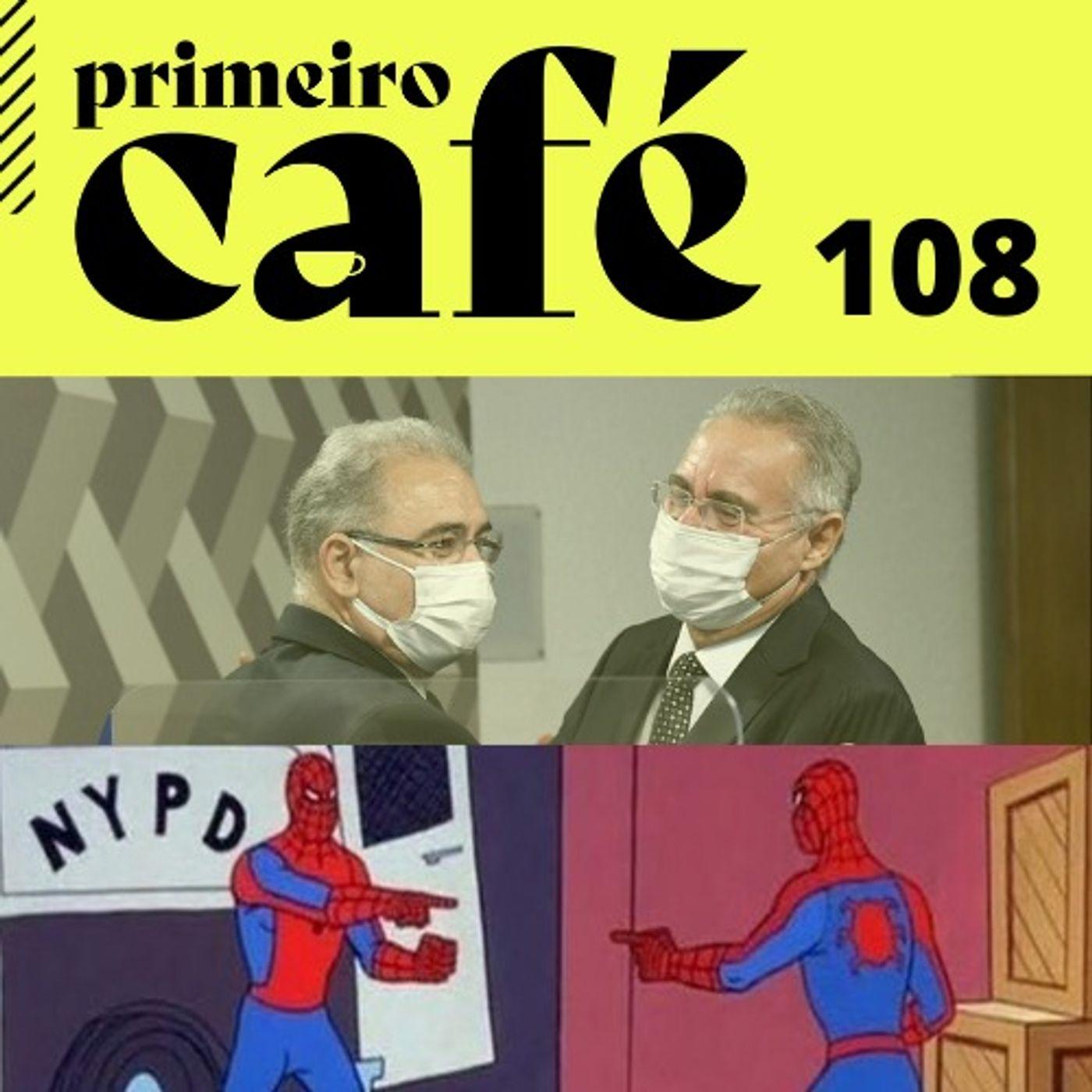 #108 CPI: Renan pergunta e Queiroga tenta blindar Bolsonaro