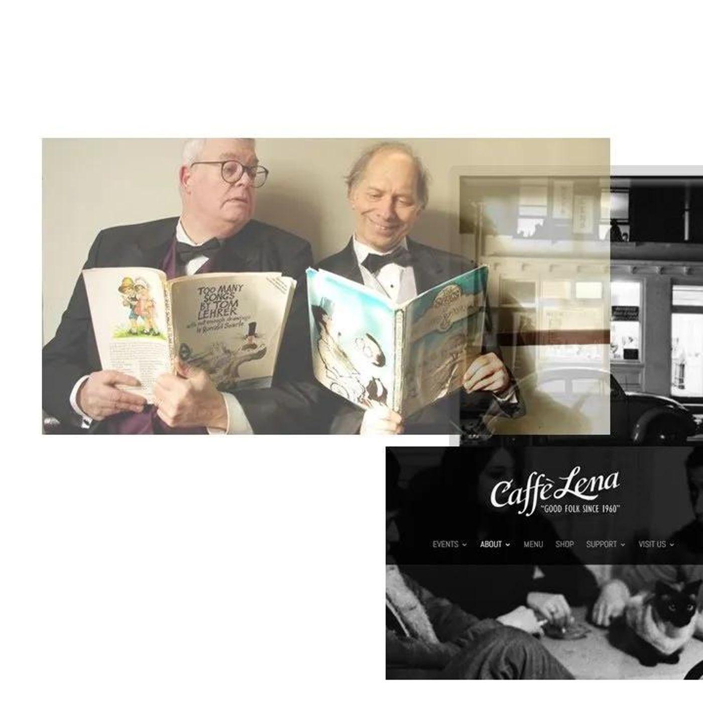 Byron Nilsson_Caffe' Lena_A Tom Lehrer Celebration on 4-9-21