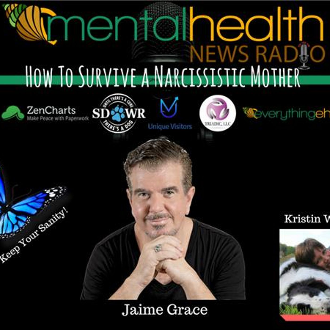 Mental Health News Radio - How To Survive a Narcissistic Mother and Keep Your Sanity: Jaime Grace