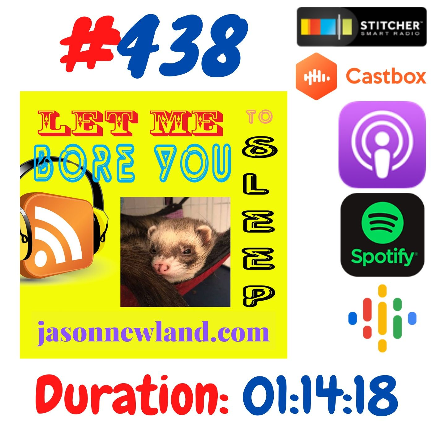 #438 Let me bore you to sleep - Jason Newland (25th June 2020)