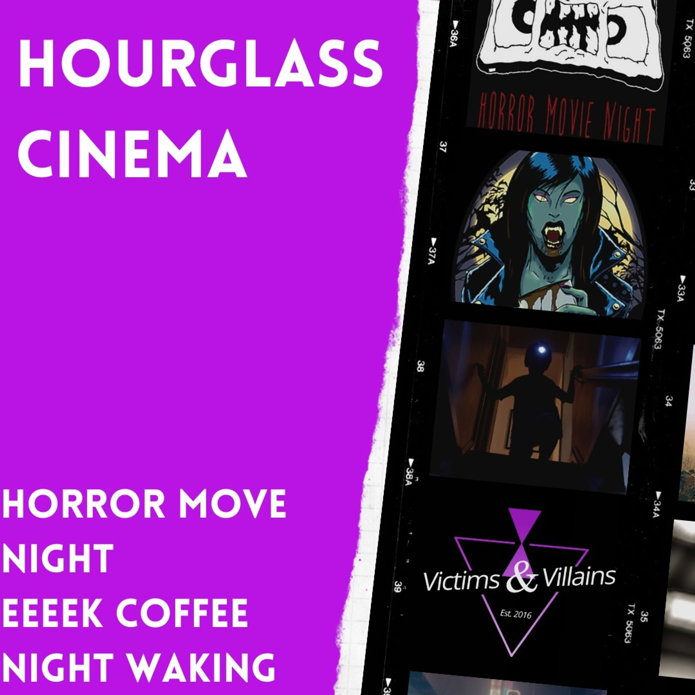 Horror Movie Night, EEEEK Coffee, Night Waking (2021)   Hourglass Cinema #9