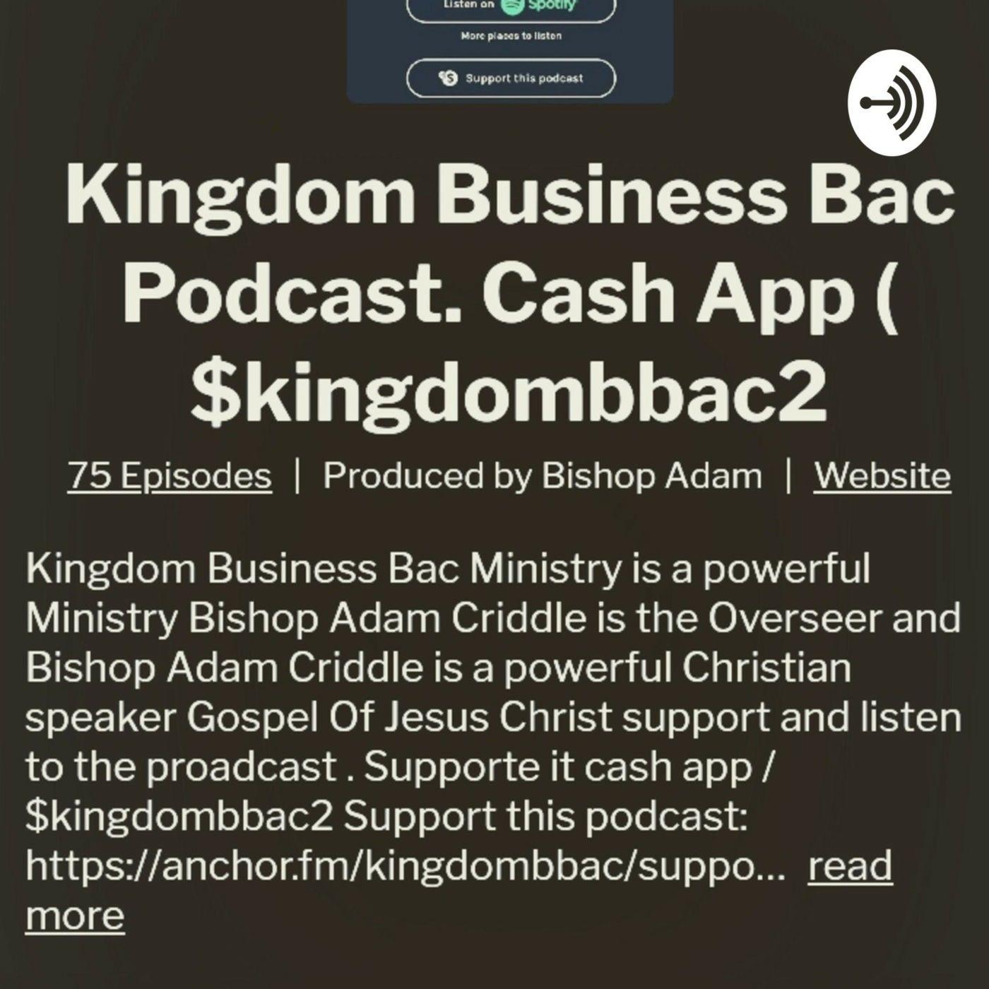 KINGDOM BUSINESS Bac Ministry's show