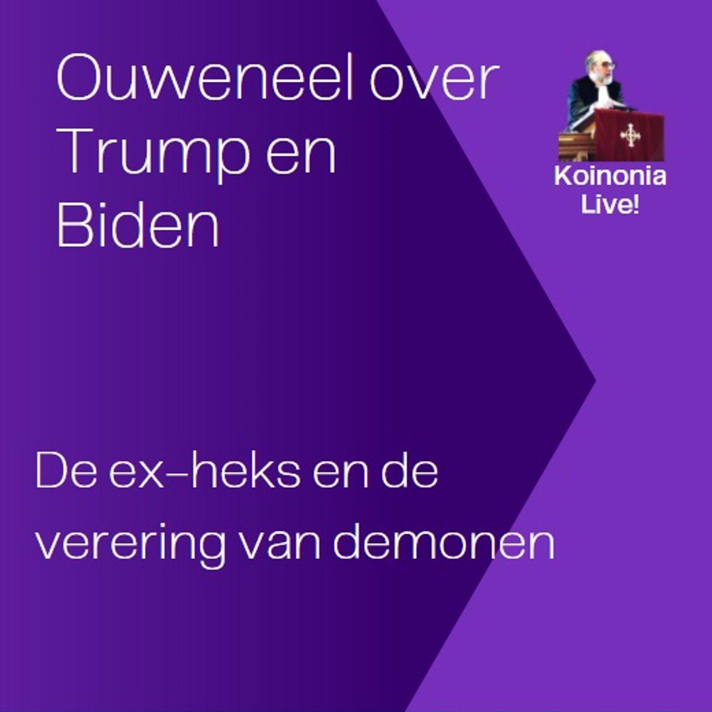 Trump en Biden en de ex-heks - KLIVE! van 23 oktober 2020