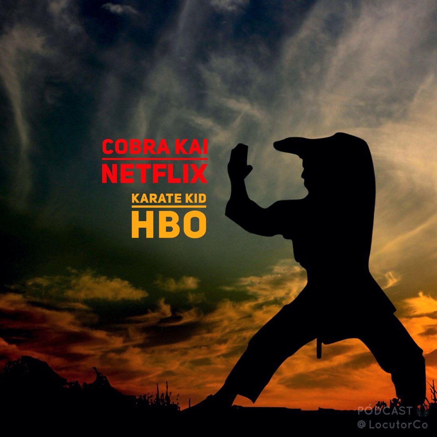 Cobra Kai en Netflix y Karate Kid en HBOGO