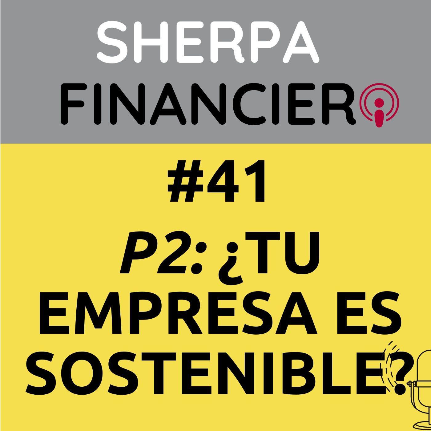 #41 P2 ¿Tu empresa es SOSTENIBLE?