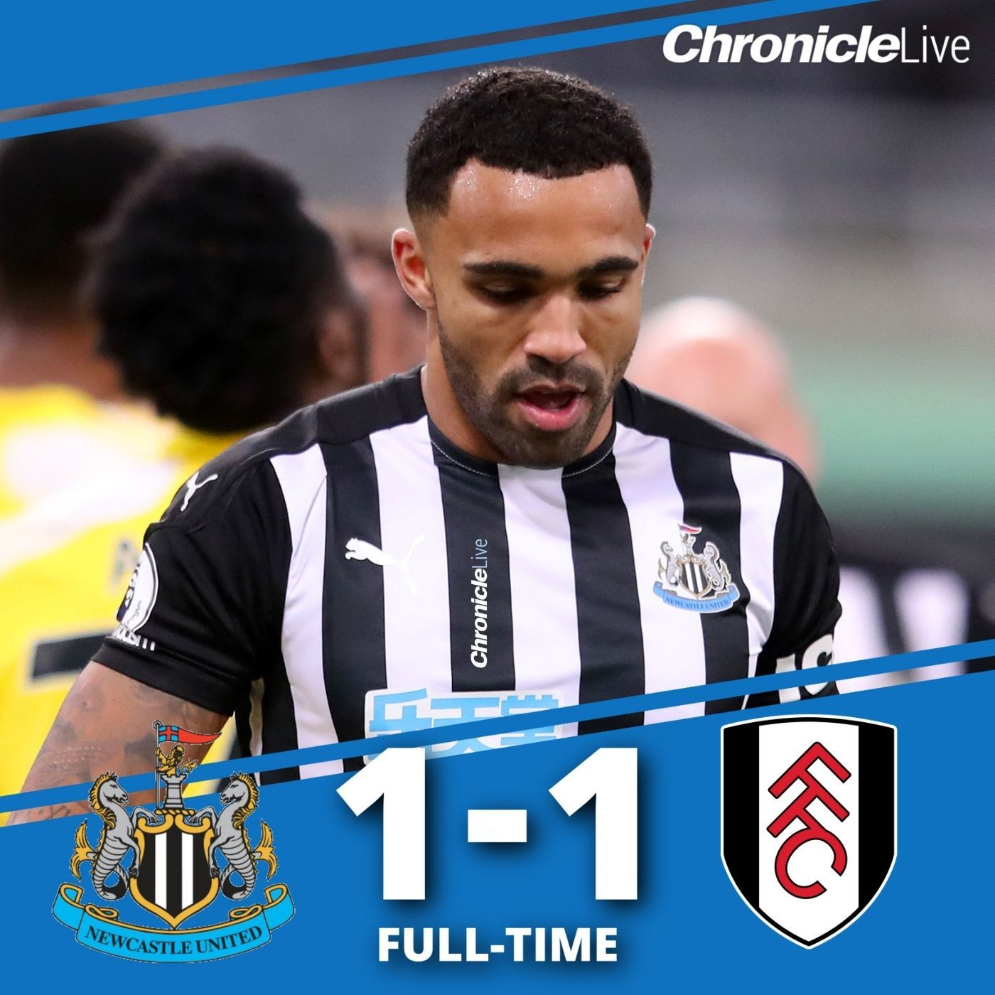 Simply not good enough - NUFC held by 10-men Fulham