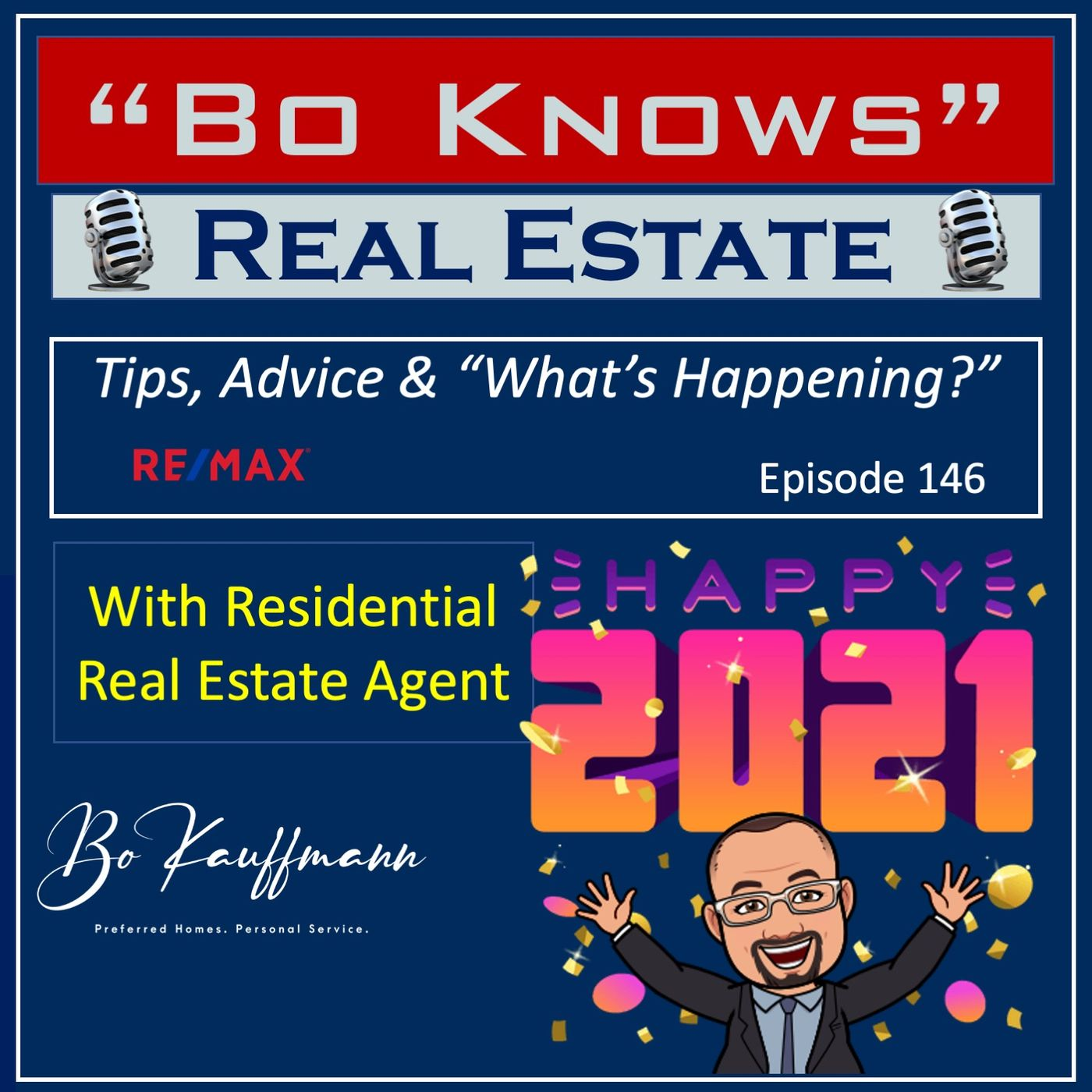 (EP: 147)  Real Estate Forecast 2021 - Looking back to determine the future