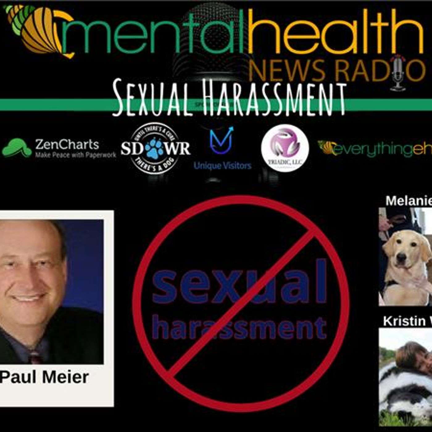 Mental Health News Radio - Round Table Discussions with Dr. Paul Meier: Sexual Harassment