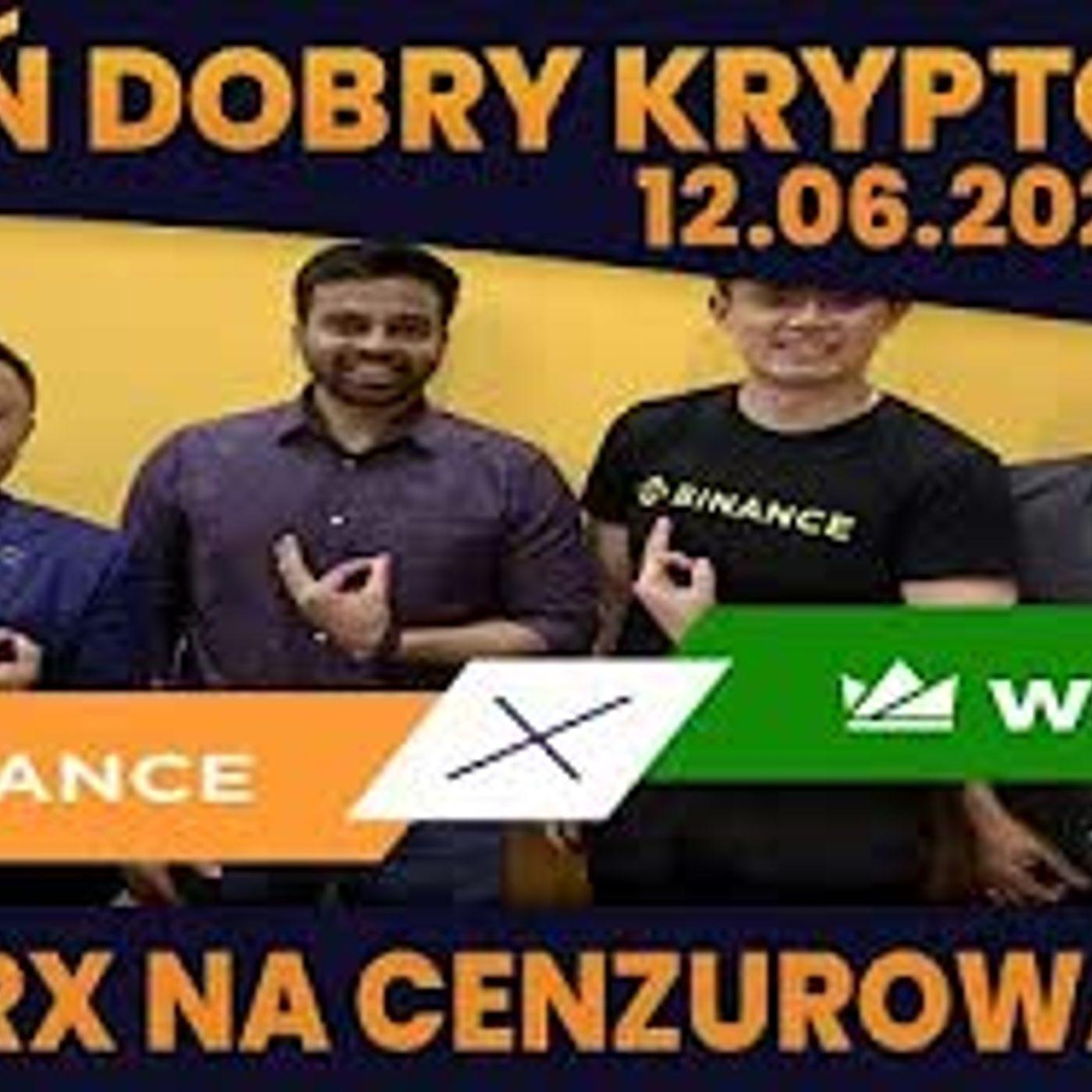 #DDK   12.06.2021   WAZIRX OD BINANCE MA PROBLEMY? BAŃKA NFT SIĘ JEDNAK KOŃCZY? HOLANDIA - BAN BITCOIN CZY FUD?
