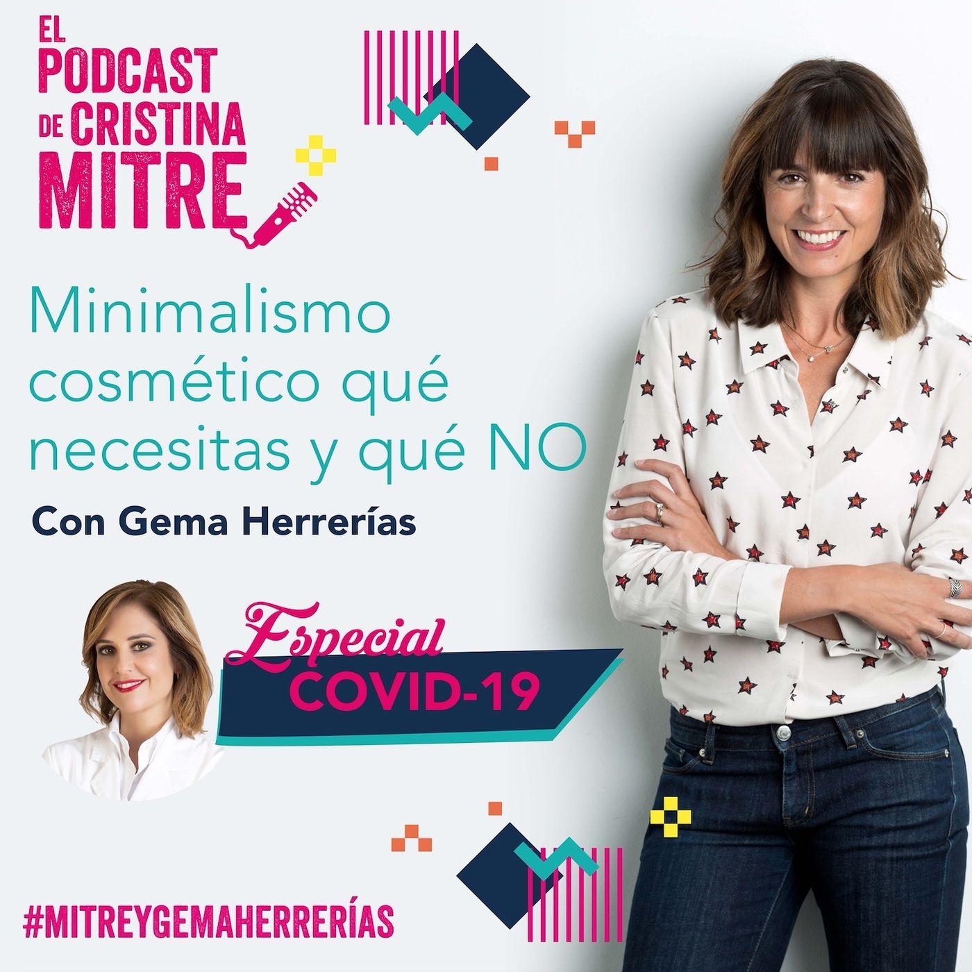 ¿Se adhiere el coronavirus a las cremas y maquillajes? Entrevista a Gema Herrerías. Especial COVID-19