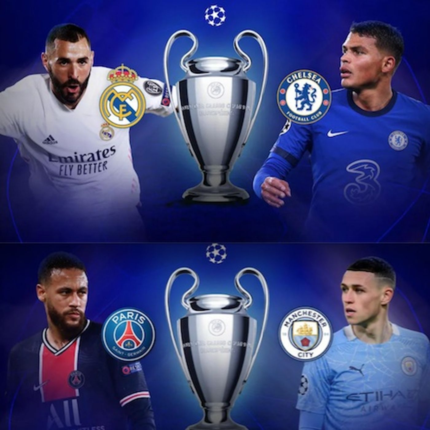 UEFA Champions League & Europa League Semi-finals: Betting Previews & Official Plays for the 1st Legs (04/27 - 04/29)