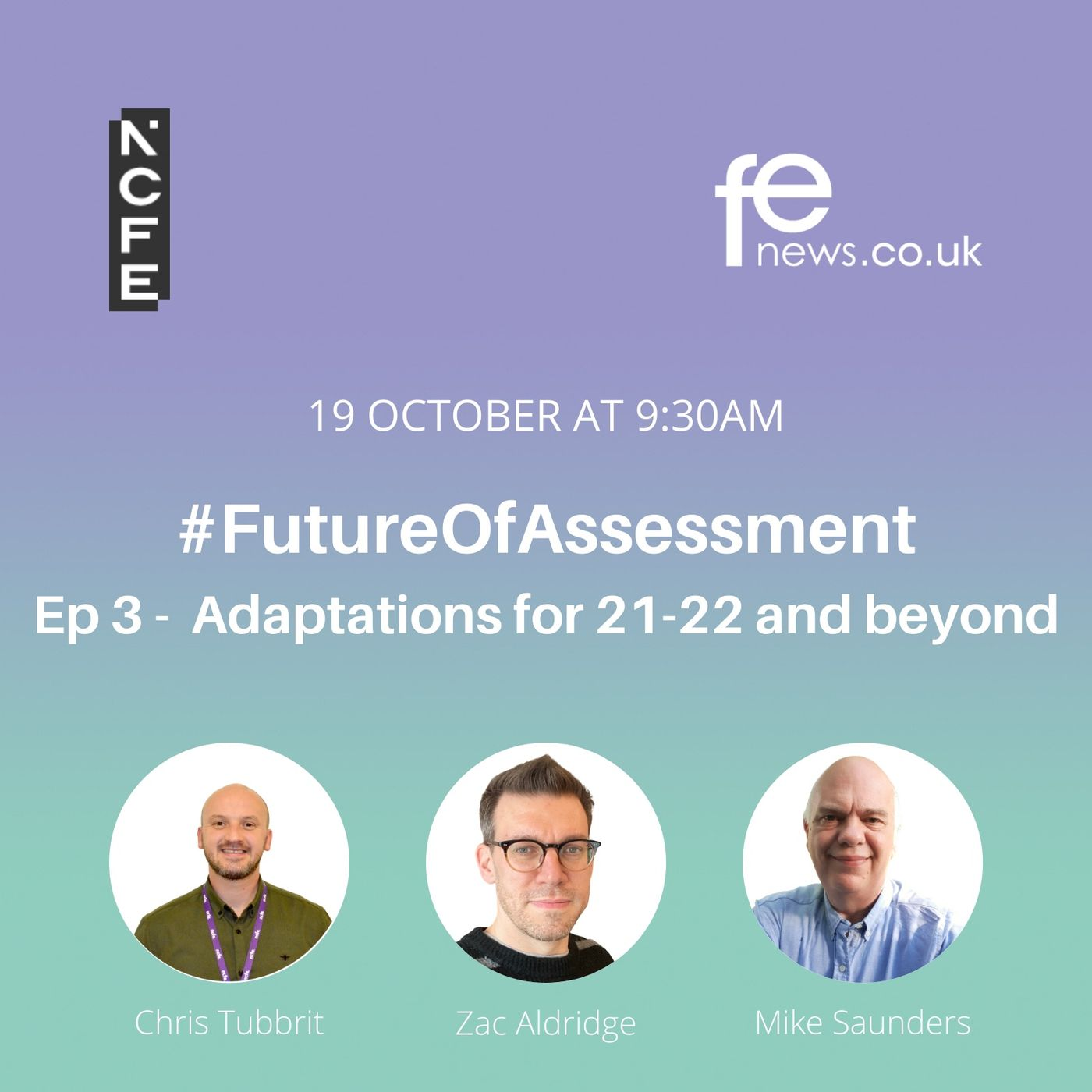 Adaptations for 21-22 and beyond   #FutureOfAssessment Episode 3