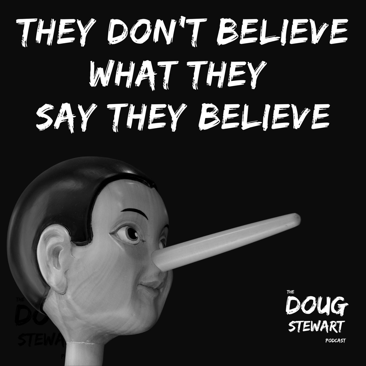 They Don't Believe What The Say They Believe