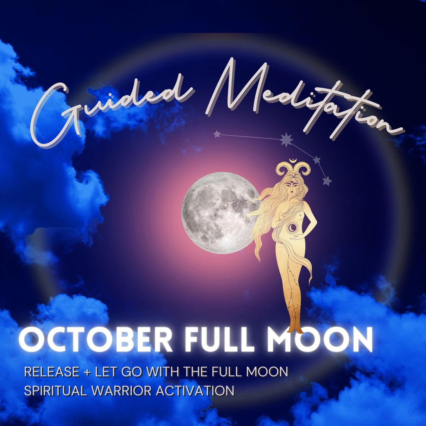 October Full Moon in Aries Guided Meditation