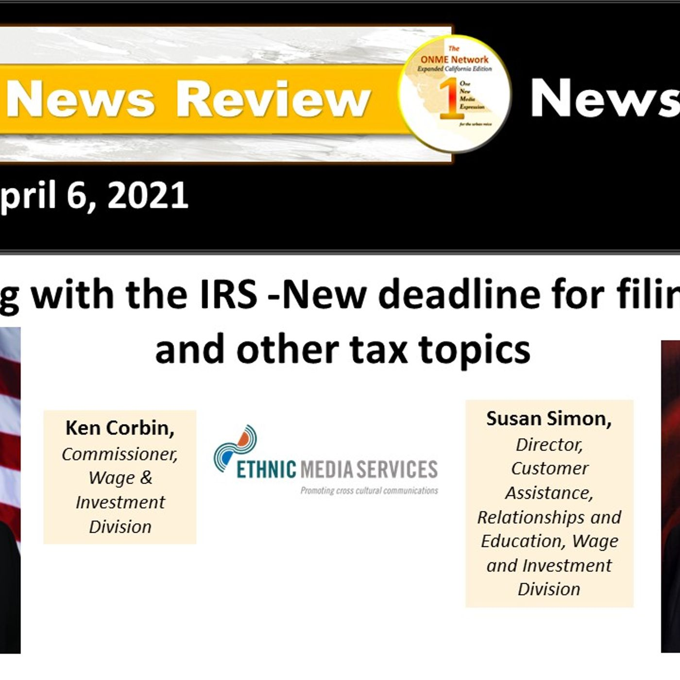 News Too Real:  Host reviews extended deadline for filing taxes and new revisions due to COVID-19