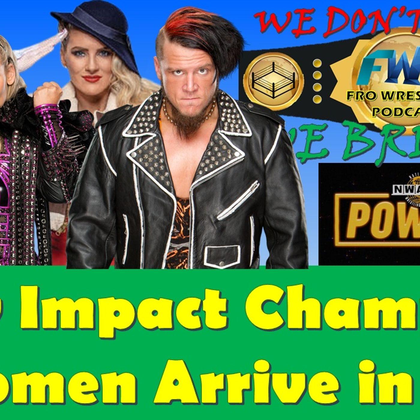 New Impact Wrestling World Champion - WWE Women Arrive in Saudi Arabia