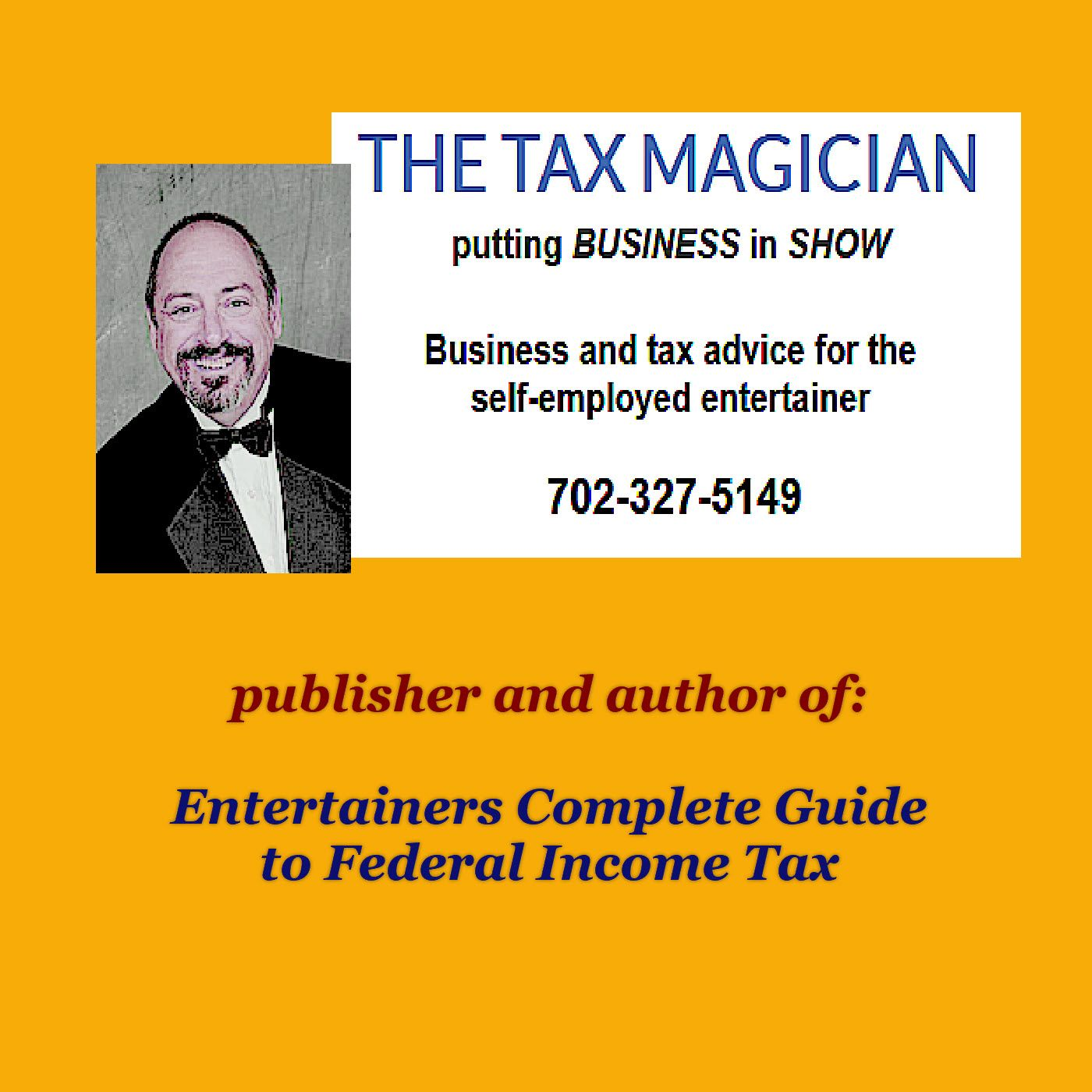 The Tax Magician by Countyfairgrounds