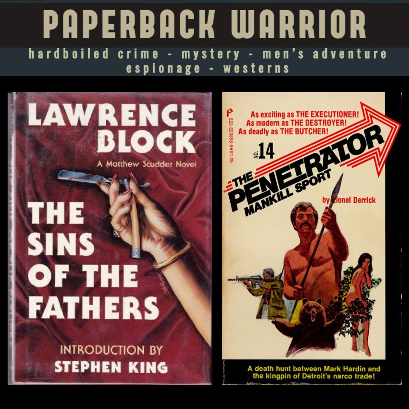 Episode 01: Welcome to Paperback Warrior