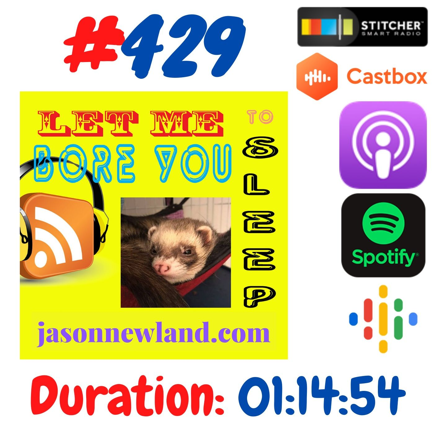 #429 Let me bore you to sleep - Jason Newland (14th June 2020)