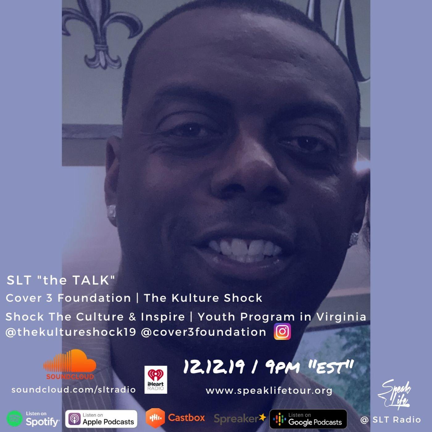 "12.12 SLT ""the TALK"" featuring Xavier 'X' Scott"