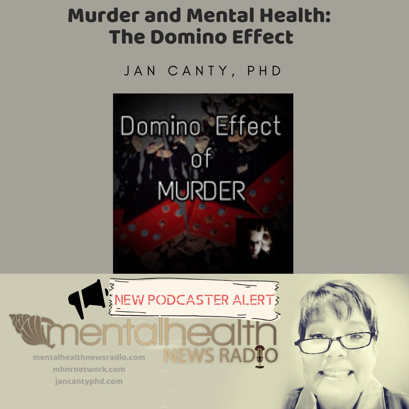 Mental Health News Radio - Murder and Mental Health: The Domino Effect