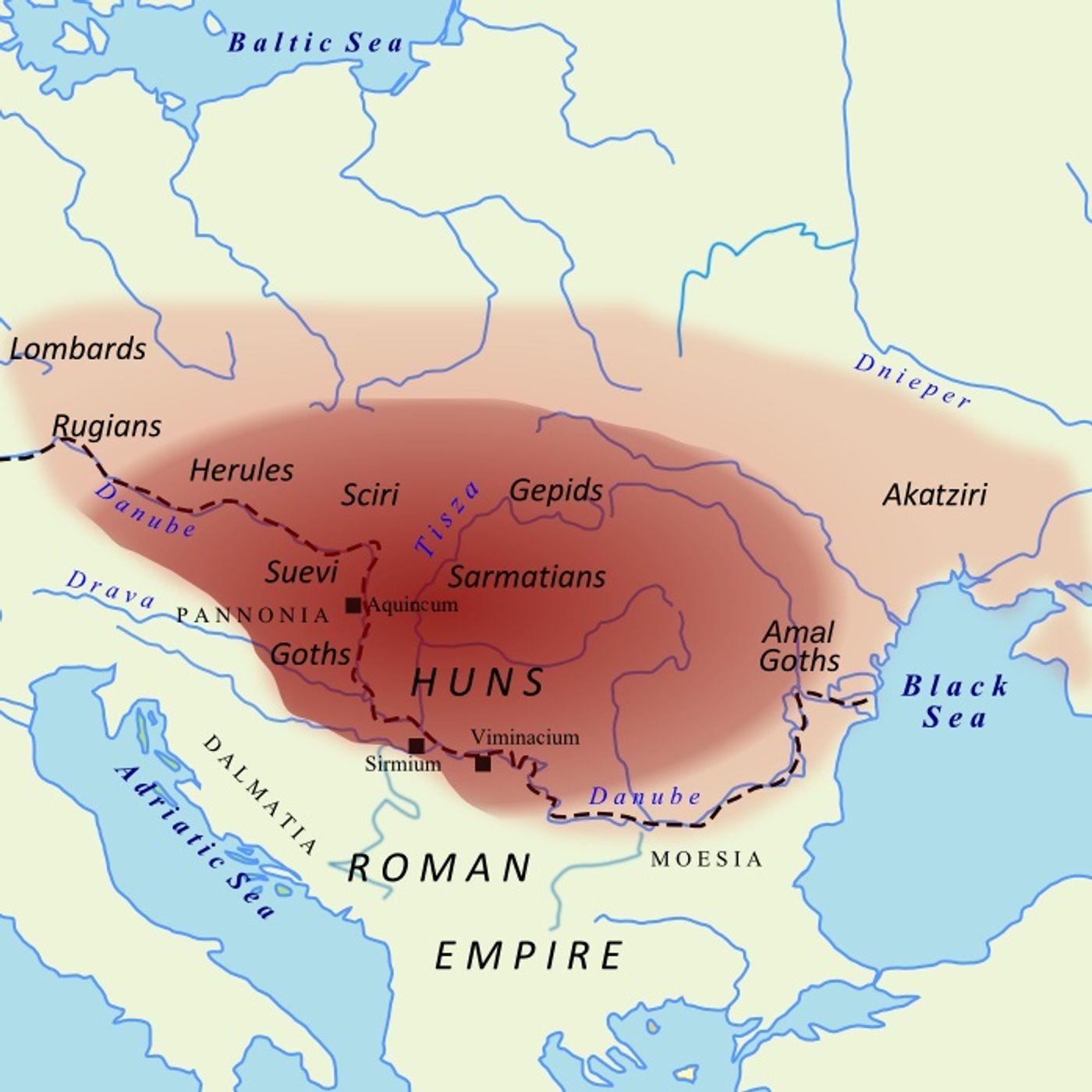 Episodio 31, l'Impero degli Unni (376-441)