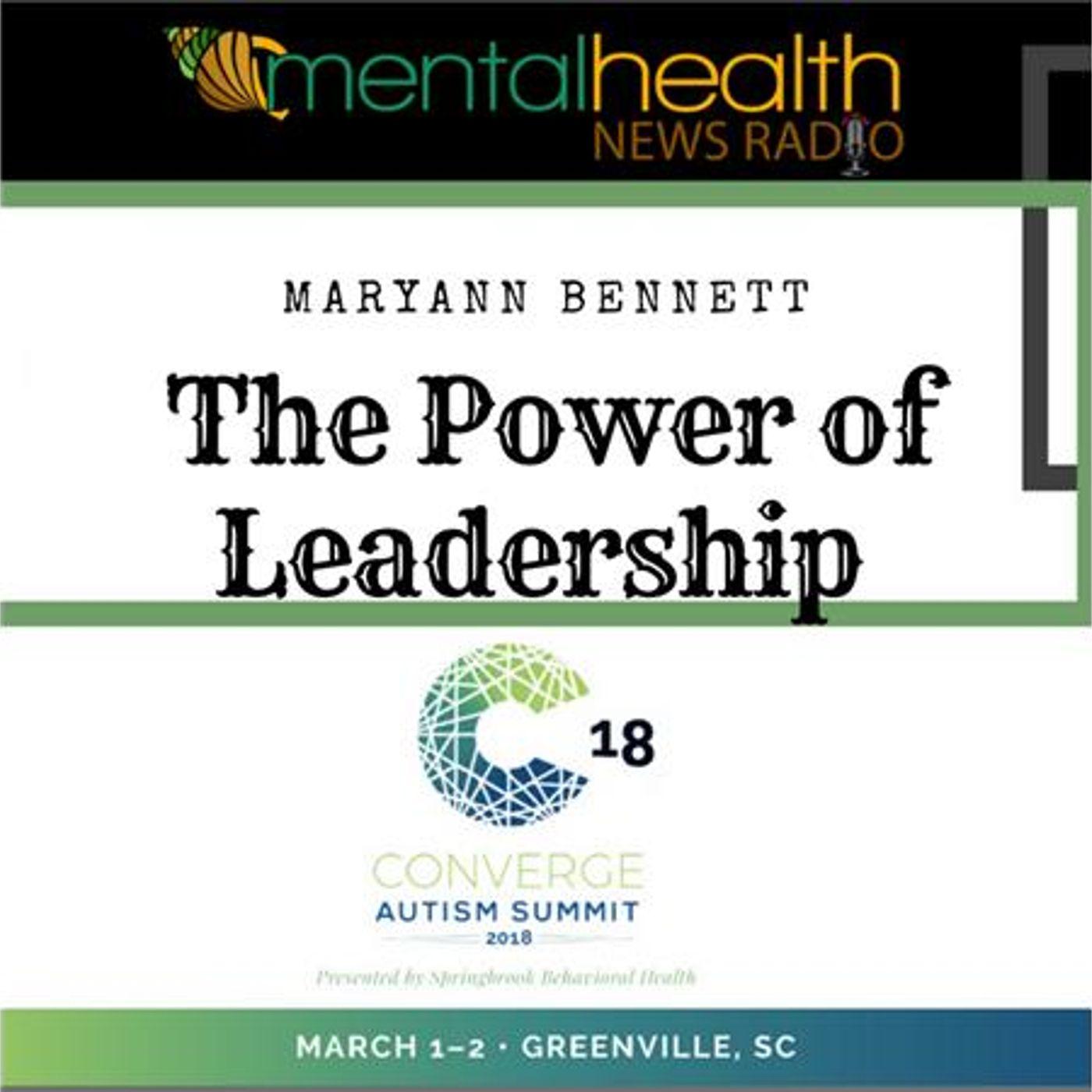 Mental Health News Radio - Converge Autism Summit: The Power of Leadership with MaryAnn Bennett