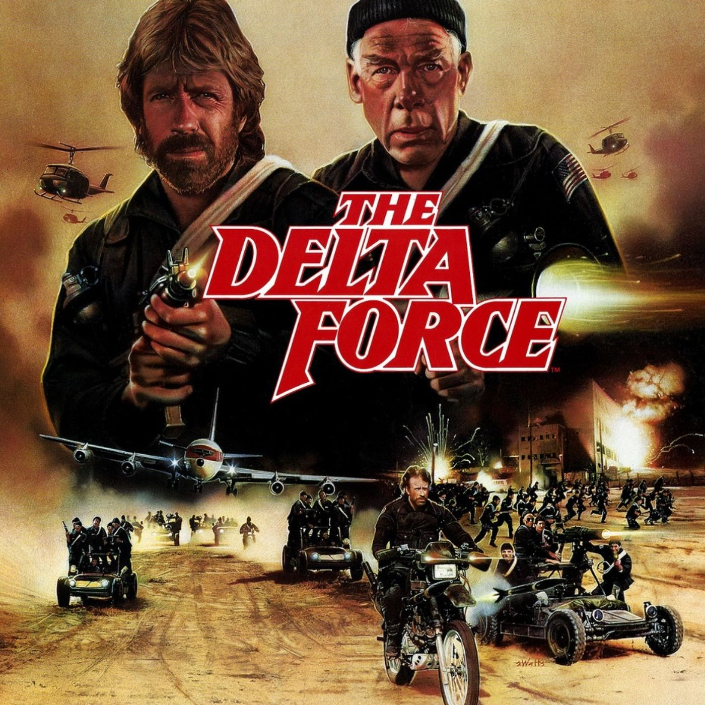 CRITIQUE DU FILM THE DELTA FORCE