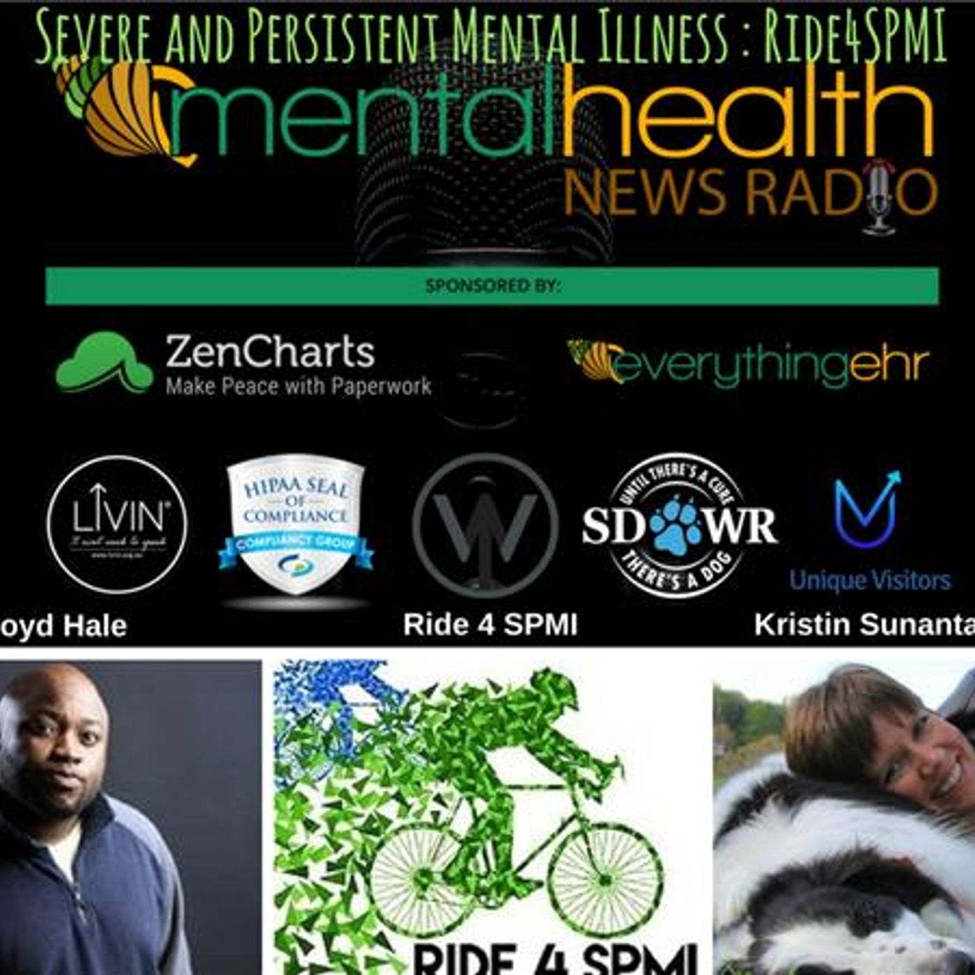 Mental Health News Radio - Severe and Persistent Mental Illness with Lloyd Hale: Ride4SPMI