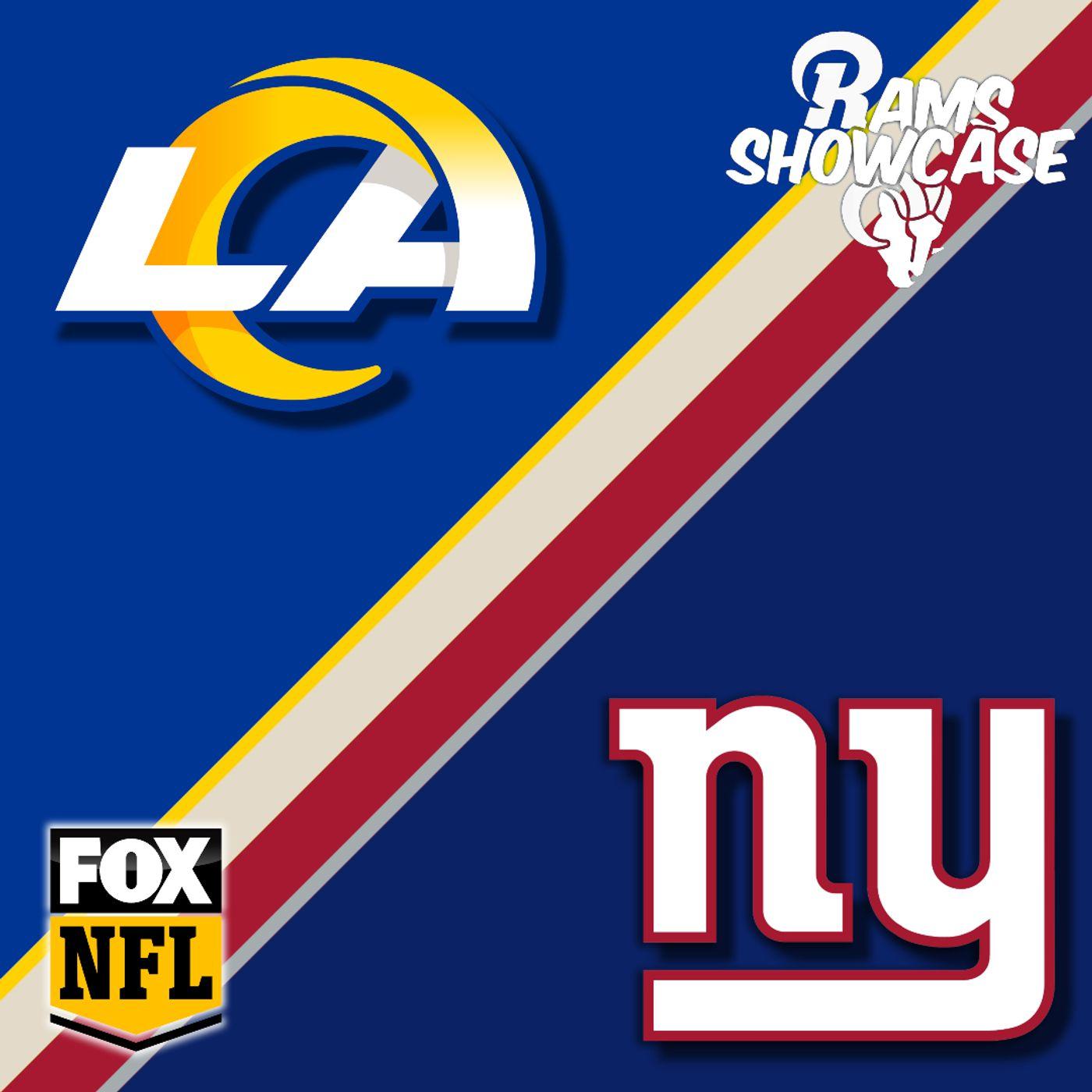 Rams Showcase - Rams @ Giants