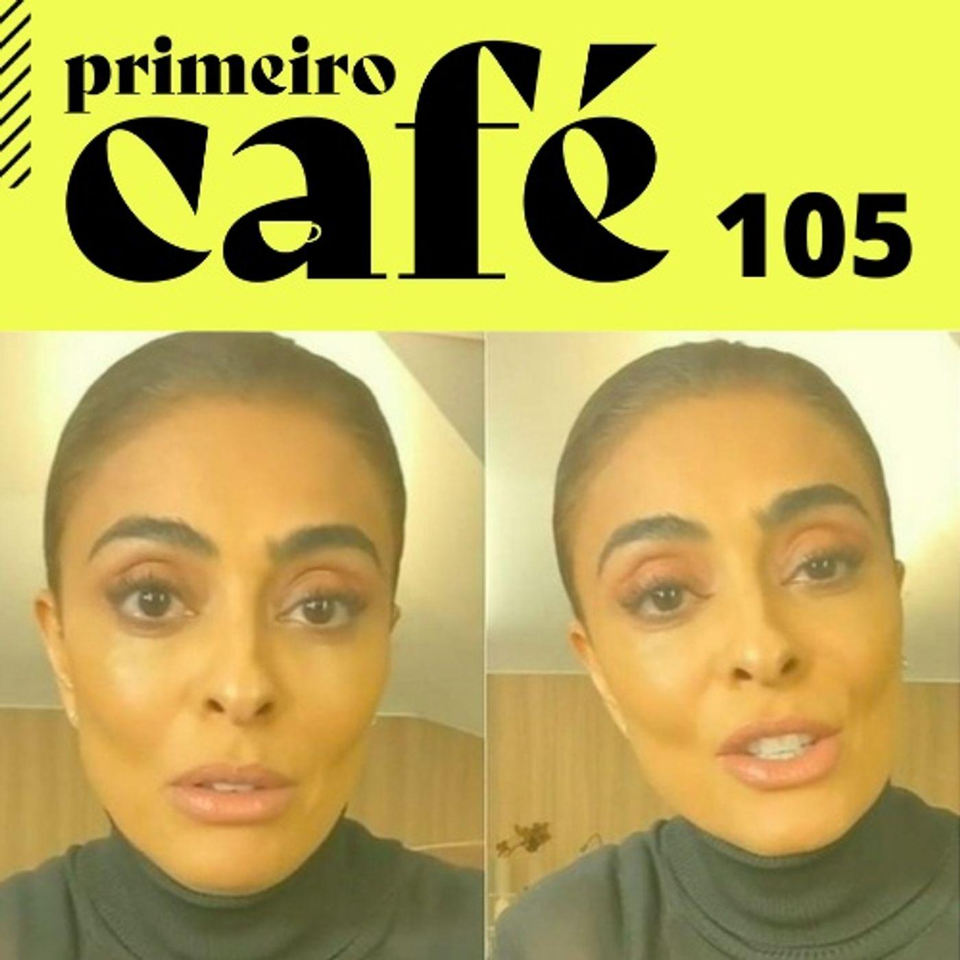 #105 Corre aqui, Juliana Paes   Café com Série: O Método Kominsky