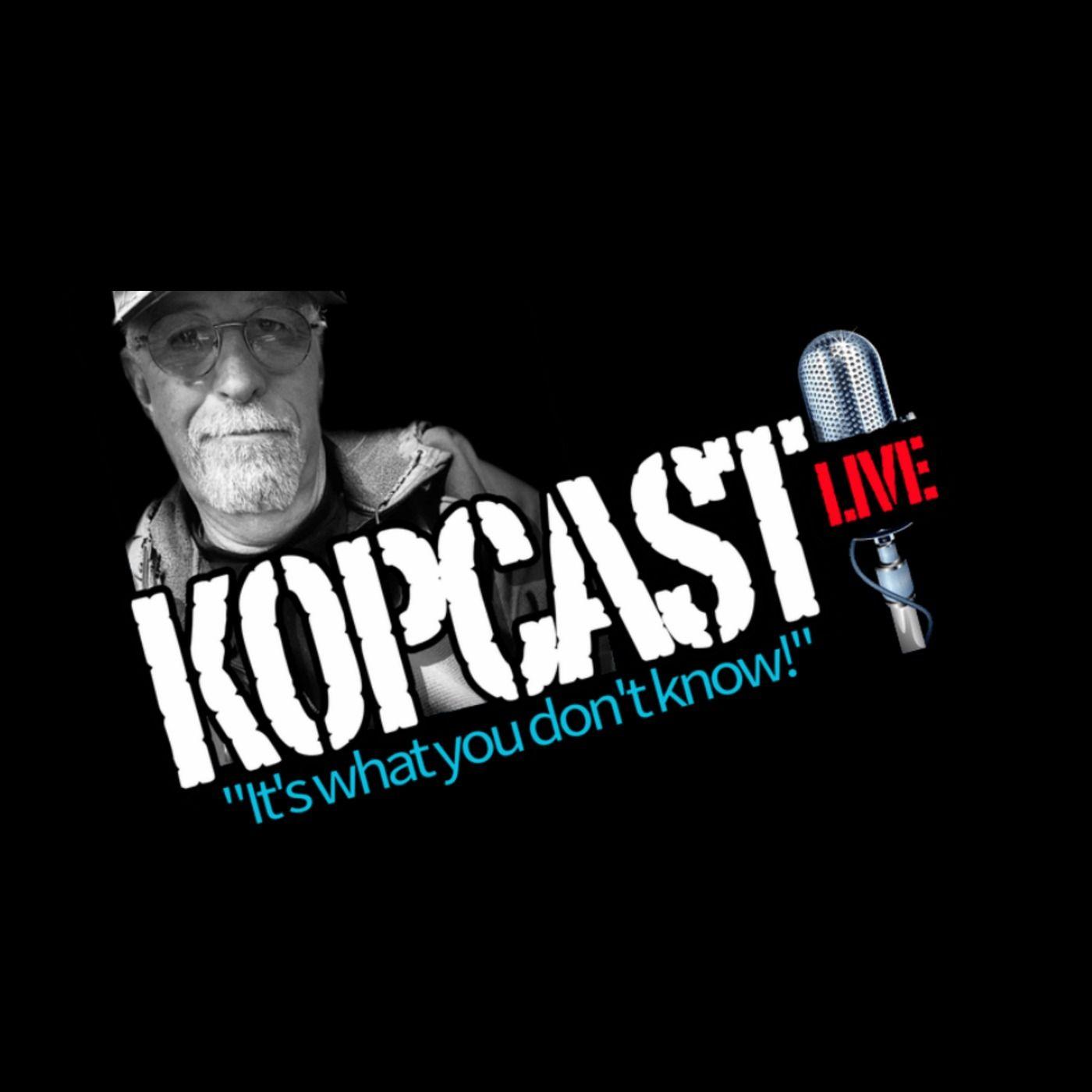 Kopcast Live with Dr T Charles Brantley