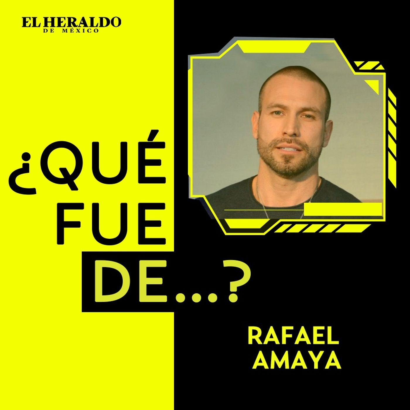 ¿Qué fue de...? Rafael Amaya