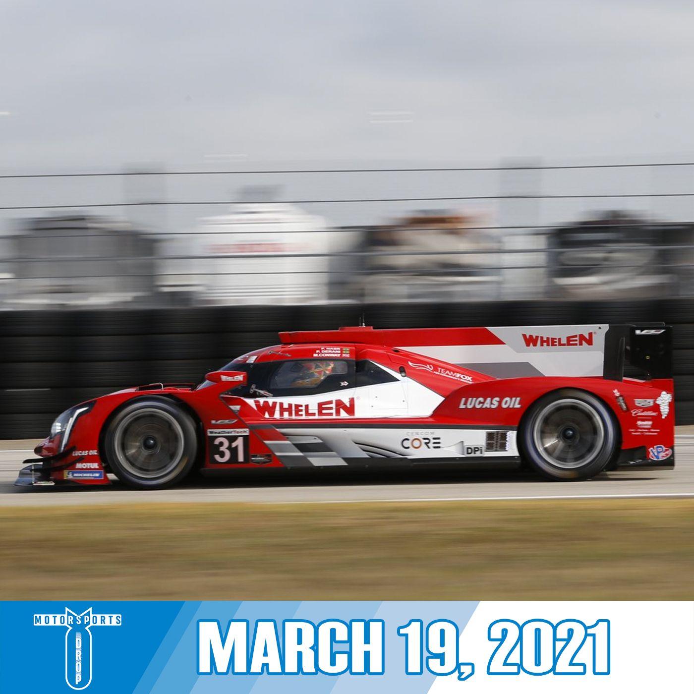 Motorsports Drop: March 19, 2021