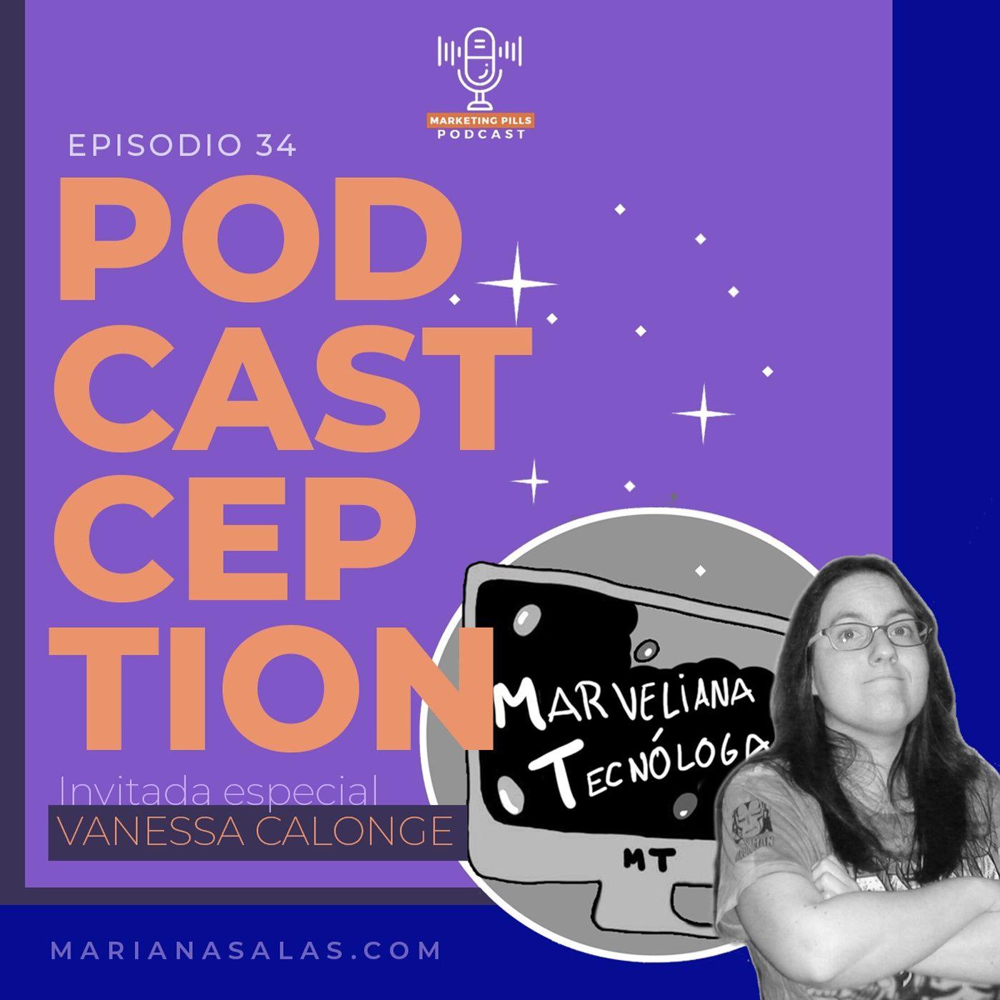 ⚡Episodio 34 - [INVITADA ESPECIAL] Podcastception o cómo hacer un podcast y no morir en el intento