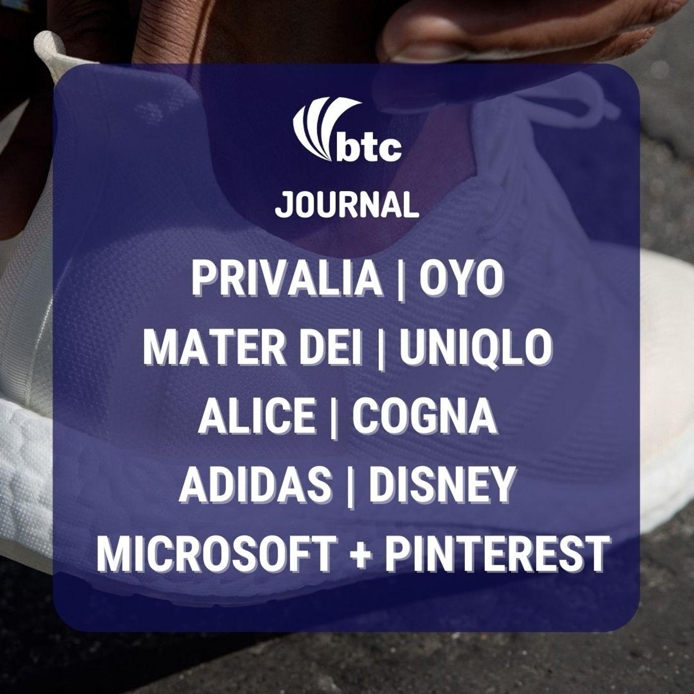 IPO Privalia e Mater Dei, OYO, Alice, Microsoft + Pinterest e Disney   BTC Journal 18/02/21