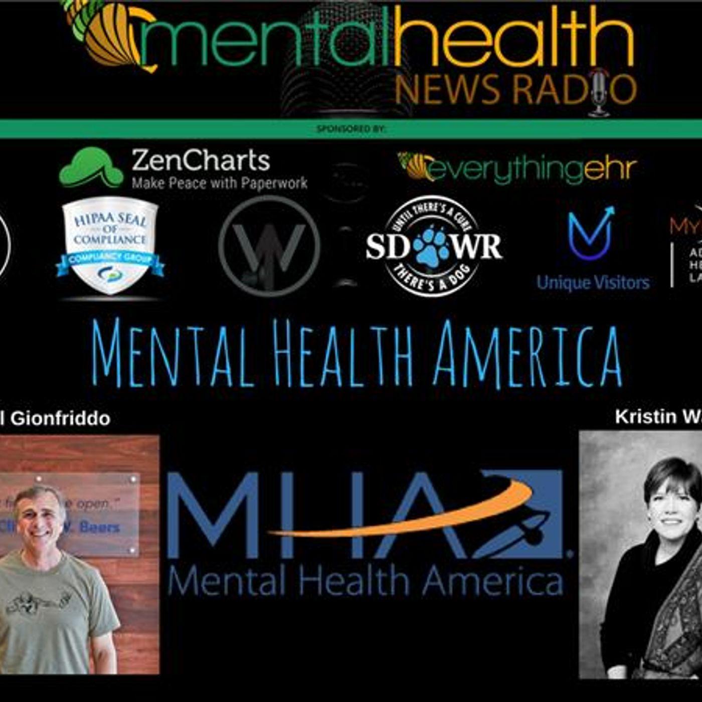 Mental Health News Radio - Mental Health America CEO Paul Gionfriddo on Mental Health News Radio