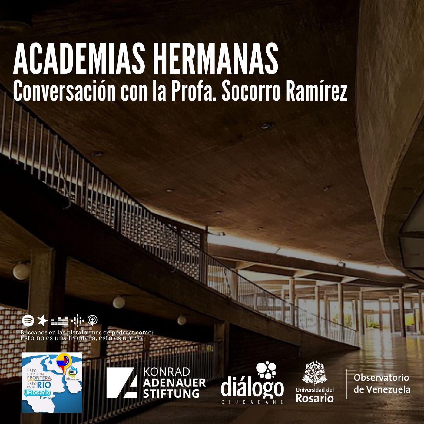 Academias hermanas: conversación con la Profesora Socorro Ramírez