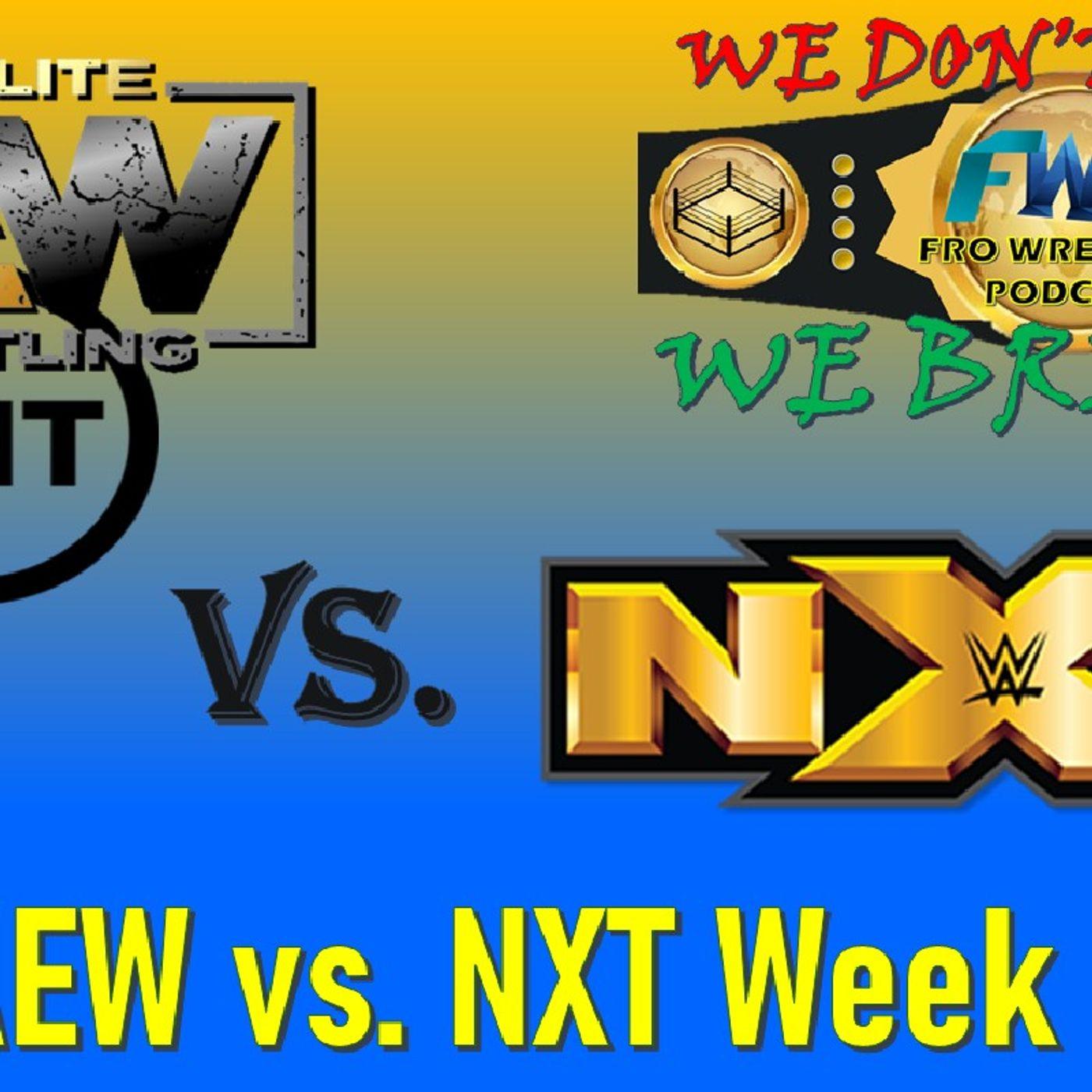 AEW vs. NXT Week 3