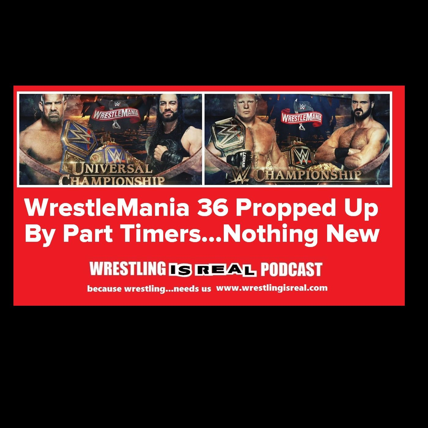 WrestleMania 36 Propped Up By Part Timers...Nothing New KOP030520-519