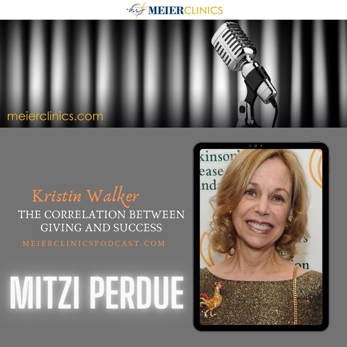 The Correlation Between Giving and Success with Mitzi Perdue