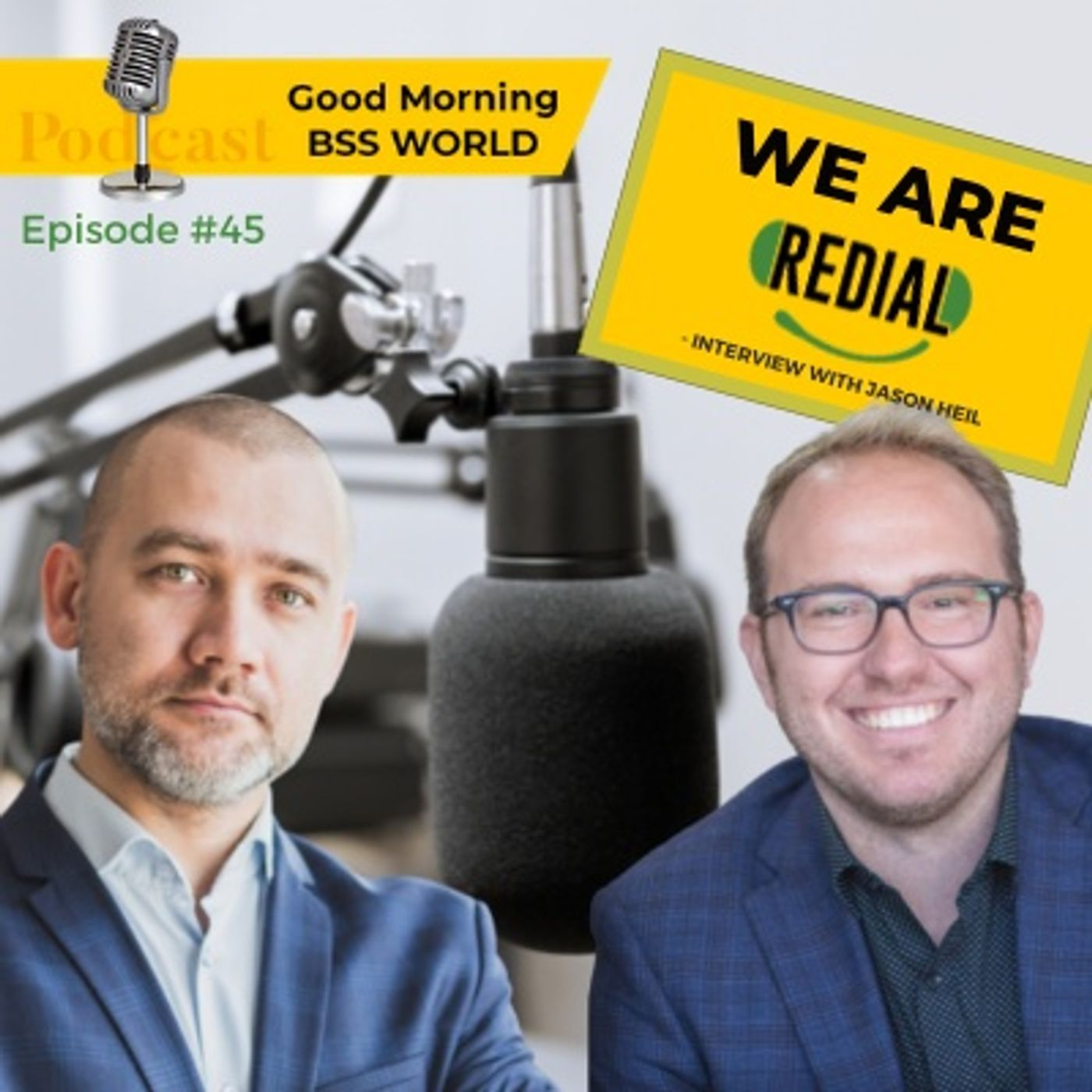 #45 BPO around the World - We are Redial BPO - interview with Jason Heil