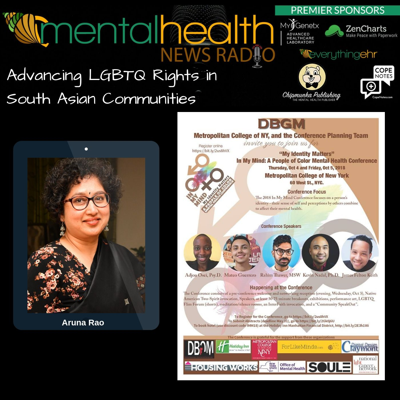 Mental Health News Radio - Advancing LGBTQ Rights in South Asian Communities with Aruna Rao